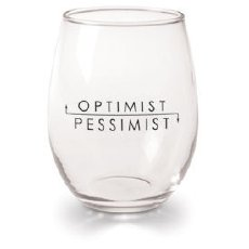 Optimist or Pessimist glass